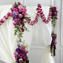 The Color & Light Chuppah Décor