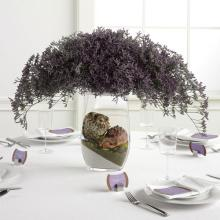 Crescent Arrangement Reception Centerpiece