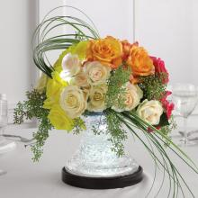 Lighted-Base Centerpiece