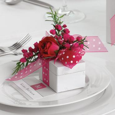 Place Card Arrangement