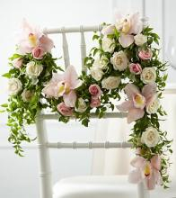 The Orchid Rose Chair Décor