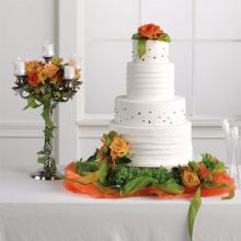 Intermediate Table and Cake Decoration
