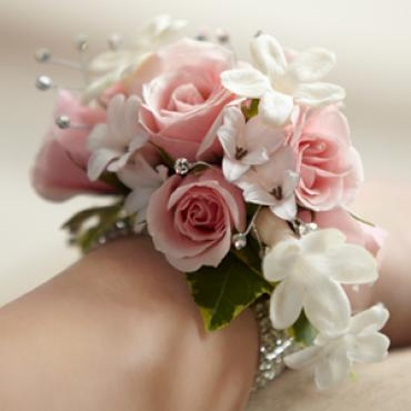 The Pure Grace Wrist Corsage