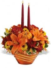 Amber Waves Centerpiece